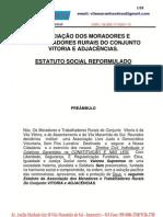 ESTATUTO DA ASSOCIAÇÃO DOS MORADORES E TRABALHADORES DO CONJUNTO VITORIA E ADJACÊNCIAS (DEFINITIVO)