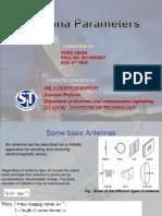 antenna parameters(by vivek)