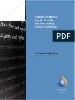 Sexual Orientation, Gender Identity and International Human Rights Law - A Practioners Guide