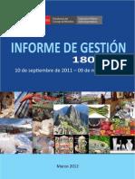 Informe de Gestión Sierra Exportadora