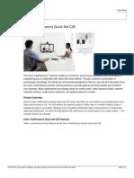 Cisco C20 Product Brief