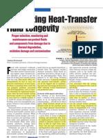 Maximizing Heat-Transfer Fluid Longevity