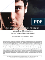 2012 Misandry and Emptiness Masculine Identity in a Toxic Cultural Environment PAUL NATHANSON AND KATHERINE K. YOUNG