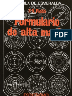Piobb P v - La Tabla Esmeralda Formulario de Alta Magia