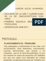 Tesis correccion de la onicocriptosis con urea