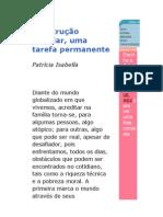 Texto Para Revista Construir