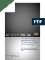 Como Instalar DHCP en CentO1