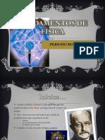 FUNDAMENTOS DE FÌSICA.periodo.moderno