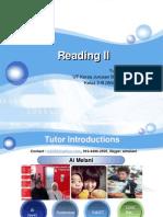 Reading II-Modul 1 Modul 2