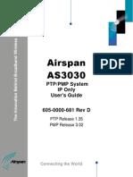 AS3030 User Manual - 606-0000-681