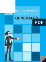 GUÍA DE PRÁCTICAS AMBIENTALES - GENERALES