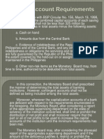 Types of Deposit Accounts and List of Thrift Banks