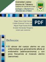 Cancer Cuerpo Uterino FINAL
