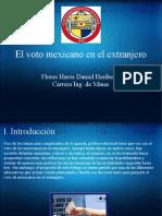 El Voto Mexicano en el Extranjero