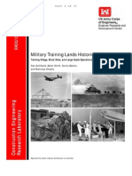 Military Training Lands History