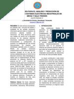 Artículo - Metodología para el Análisis y Reducción de Armónicos en Sistemas Eléctricos Industriales de Media y Baja Tensión