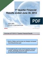 09-09-12 denso_results_Q1-2
