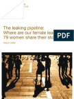 Leaking Pipeline Women Leaderhip