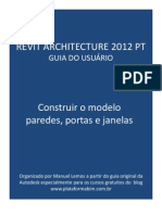 Revit Architecture 2012 PT Construir o Modelo