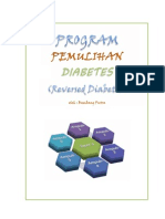 Program Pemulihan Diabetes (Reversed Diabetes)