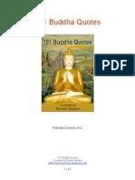 101 Buddha Quotes