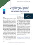 Anti-Inflammatory Properties of Curcumin