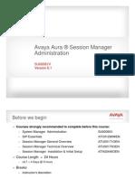 Avaya Session Manager Part 1