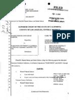 Sabour vs Narconon Southern California Lawsuit 2009