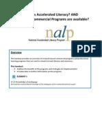 Three Commercial Programs