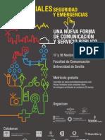 Jornadas sobre Redes Sociales, Seguridad y Emergencias. Sevilla 2009