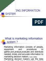 Marketing Information System Studends