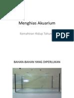 Menghias Akuarium