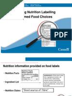 Info Nutri Label Etiquet Eng