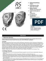 Instruccions pulsómetro Sanitas
