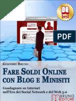 Fare Soldi Online Con Blog e MInisiti_ed2010