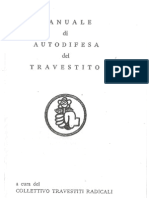 Manuale Autodifesa Travestito 1974