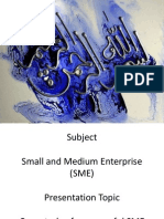 Semester 5, Presentation of SME