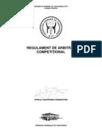 Wtf Regulament Competitie