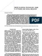 Flay 78 Catastrophe Theory - Attitudes and Social Behavior
