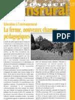 Dossier Transrural_Education à l'Environnement