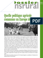 Dossier Transrural_Quelle PAC Demain en Europe