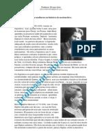 Duas mulheres na história da matemática
