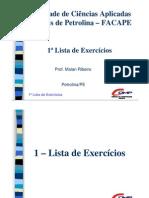 Lista de Exercícios Sistemas Lógicos