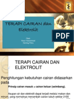 Terapi Cairan Dan Elektrolit