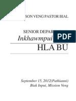Senior Inkhawmpui 2012 HLA BU (Draft)