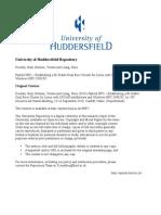 Ibad Kureshi - Hybrid HPC - Abstract - University of Huddersfield