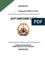 Afp Uniform Code