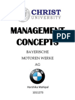 Management concepts BMW