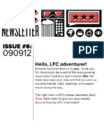 LFC Reel Time Newsletter | Issue 6