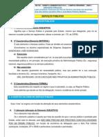 Direito Administrativo - SERVIÇOS PÚBLICOS